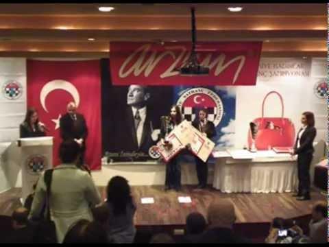 2012 Türkiye Kadınlar Şampiyonası Kapanış Töreni
