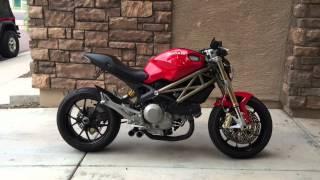 6. Ducati Monster 796 Boomtubes