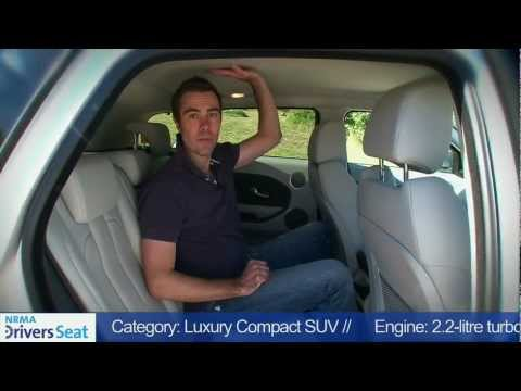 Range Rover Evoque SD4 NRMA Motoring Car Review