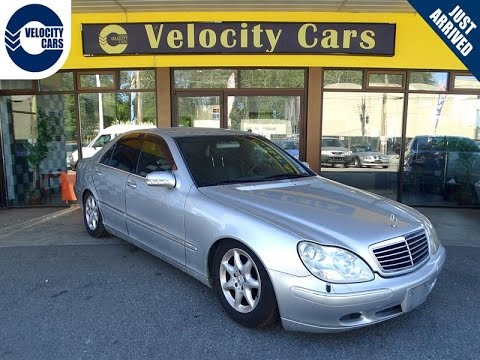 1999 Mercedes-Benz S320 S-class 128 KMs Low Mileage for sale n Vancouver, BC, Canada