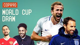 Video England Get Dream World Cup Draw | Eli And Vuj React MP3, 3GP, MP4, WEBM, AVI, FLV Juni 2018