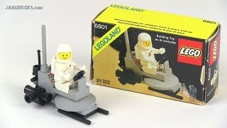 Video LEGO Classic Space 6801 Moon Buggy review! 1981 set MP3, 3GP, MP4, WEBM, AVI, FLV Agustus 2018