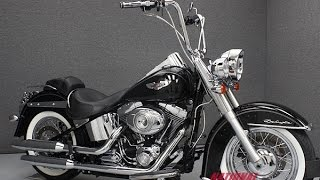 9. 2011  HARLEY DAVIDSON  FLSTN SOFTAIL DELUXE - National Powersports Distributors