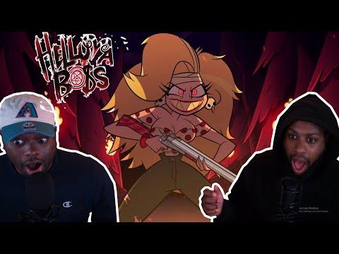 HELLUVA BOSS SEASON 1 EPISODE 1: MURDER FAMILY REACTION   MOXXIE THE SAVIOR!