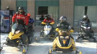 8. The SnowTrax Team Rides From Home