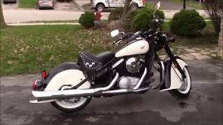 6. 1999 Kawasaki Vulcan Drifter 800 Project, Before and After Pics and Video