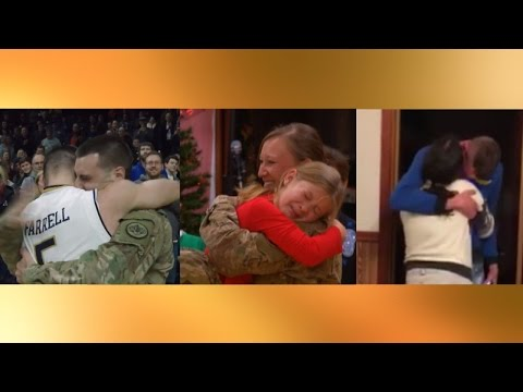 Watch These Military Heroes Surprise Their Families By Coming Home For Christmas