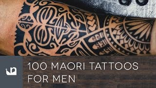 100 Maori Tattoos For Men.
