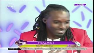 The Psalmist: Gospel singer Mary Githinji on Tukuza Show