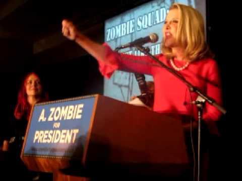 A. ZOMBIE FOR PRESIDENT!  DragonCon 2012