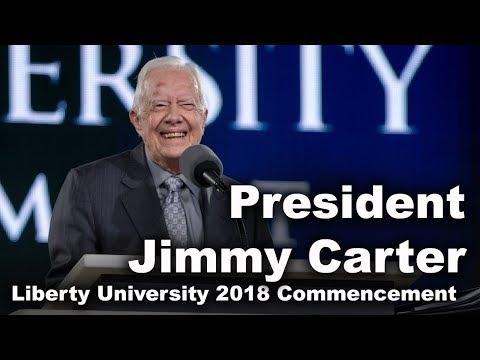 Commencement 2018 - President Jimmy Carter
