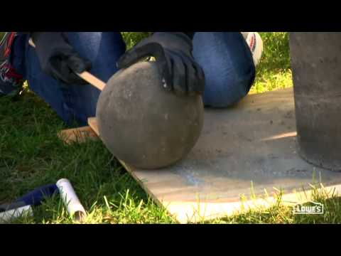 How to build your own fountain - Lowe's Creative Ideas