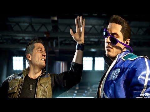 MORTAL KOMBAT 11 - Johnny Cage Slaps Johnny Cage From Past (MK11 2019) PS4 Pro - Thời lượng: 2 phút và 13 giây.