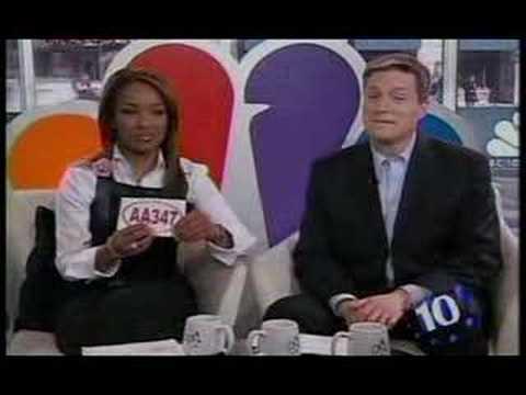 Flirting in Traffic on NBC 10 News