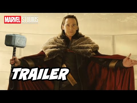 Marvel Loki Trailer 2021 - Season 2 Announcement and Thor 4 Marvel Movies Easter Eggs