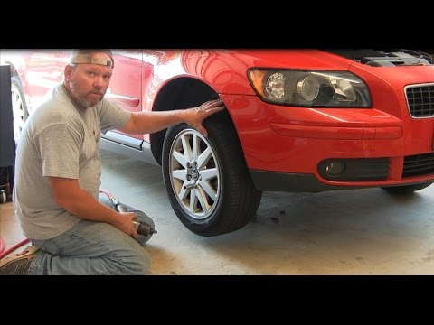 How To Replace an Alternator on a 2006 Volvo S40 T5 Part 1 Removal