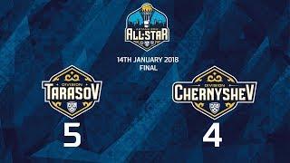 Матч Звёзд КХЛ 2018. Тарасов 5 Чернышев 4 (Финал)