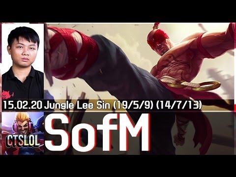 Liên Minh Huyền Thoại: Highlight Sofm cầm Leesin tung hoành rank Hàn