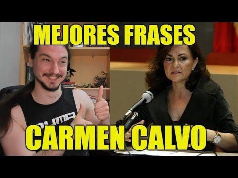 Las Mejores Frases de Carmen Calvo - Frases de Personajes 01