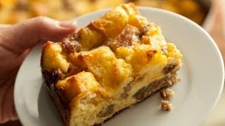 Easy Make-Ahead Breakfast Casserole - How To Make The Easiest Way