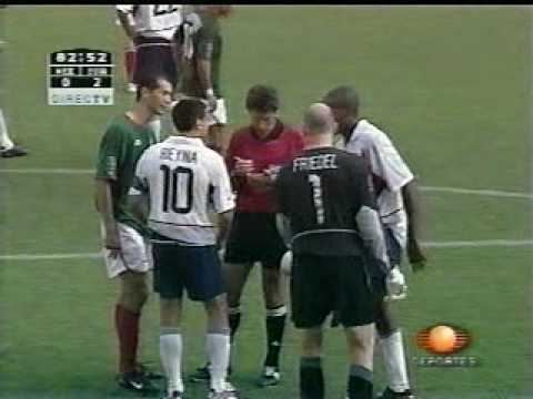 MEXICO VS ESTADOS UNIDOS OCTAVOS DE FINAL COREA JAPON 2002, PARTE 4
