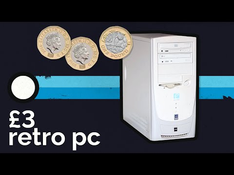 Cheapest Budget Retro PC Build | 2000 AMD Athlon, GeForce FX Cheap Retro Gaming Computer for £3