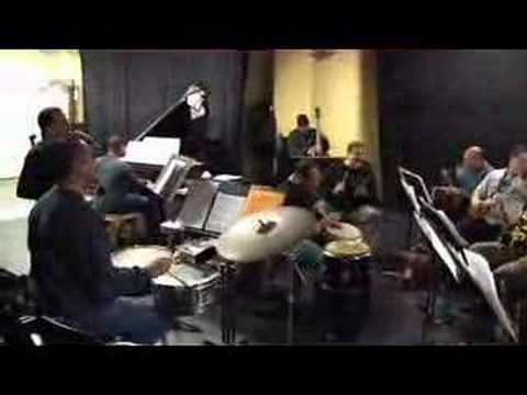 Latin Jazz Giants rehearsal tune 1