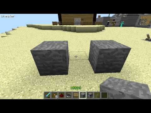 [tutoriel redstone] dispenser a flechette automatique