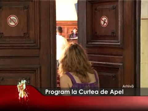 Program la Curtea de Apel