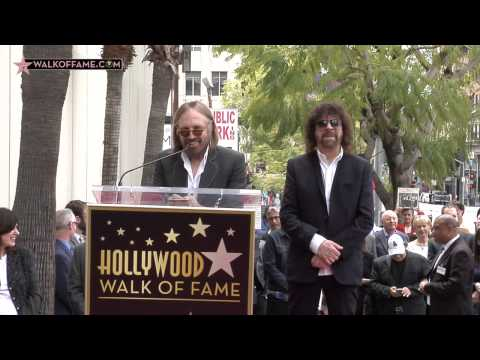 Jeff Lynne Walk of Fame Ceremony