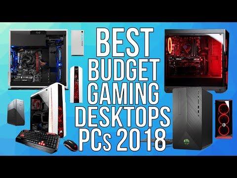 BEST BUDGET GAMING DESKTOP PCs 2018 - TOP 10 BEST AFFORDABLE PRE-BUILT GAMING DESKTOP 2018