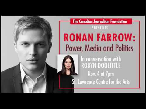 Ronan Farrow: Power, Media And Politics