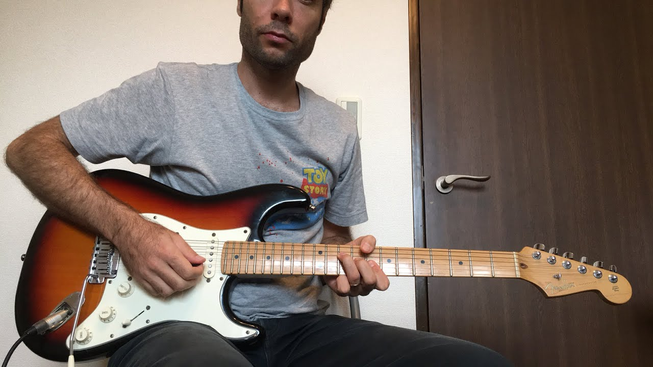 """Heart of God"" Hillsong Y&F – Electric Guitar Tutorial"