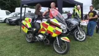 Blood Bike Leinster on Westmeath Matters, Irish TV. Blood Bikes Ireland