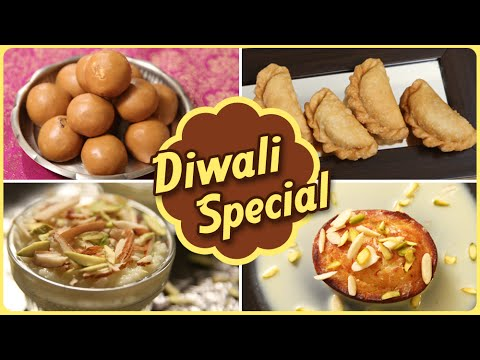 Diwali Special | Quick And Easy To Make Sweet Recipes | Rajshri Food