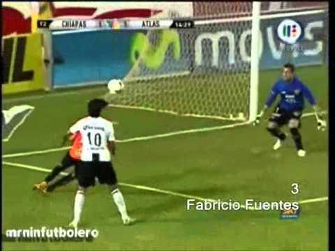 Gol de El hueso Romero al Pachuca.