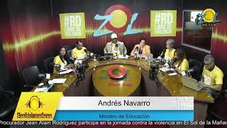 Andres Navarro la convivencia no violenta en las escuelas, es responsabilidad de los adultos