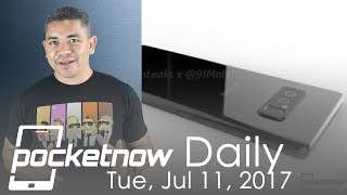 Samsung Galaxy Note 8 early launch, RED Hydrogen patents & more - Pocketnow Daily