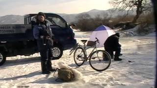 Зимняя рыбалка на реке Сучан 02.01.2015