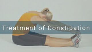 Treatment of Constipation through yoga.