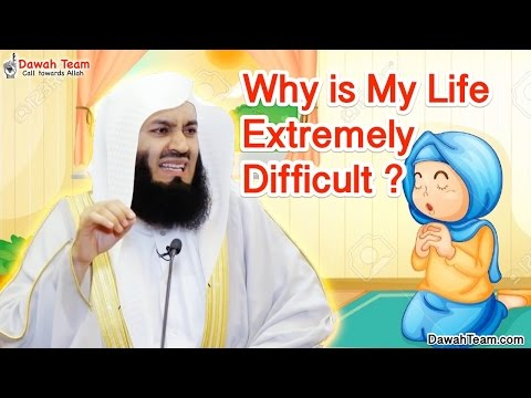 Why is My Life Extremely Difficult ? ᴴᴰ ┇Mufti Ismail Menk┇ Dawah Team