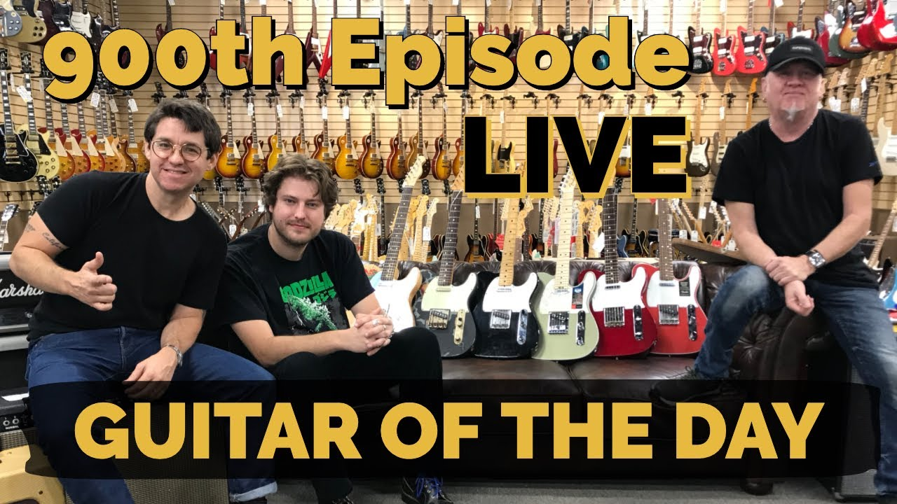 LIVE 900th Episode of Guitar of the Day | Norman's Rare Guitars
