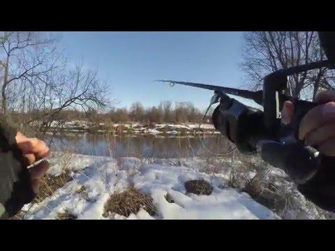 ловля ельца на удочку весной видео