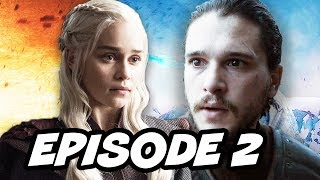 Game Of Thrones Season 7 Episode 2, TOP 10 WTF, Book Easter Eggs, Jon Snow and Daenerys Targaryen Prophecy Explained, ...