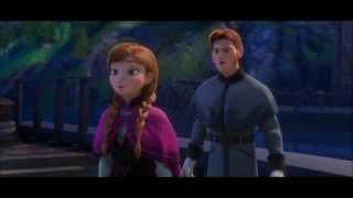 Disney's Frozen - Anna punches Hans like a boss HD
