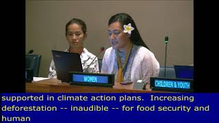 "Masina 'Fusi"" Tietie's intervention at the 6th Meeting, HLPF 2017: UN Web TV - http://webtv.un.org"