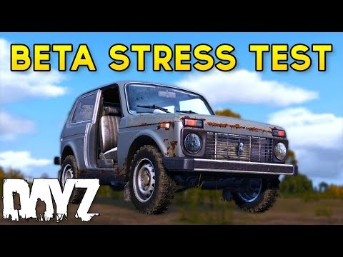 #DayZ BETA Stress Test - Vehicles, Animations, Sound Effects & MORE!