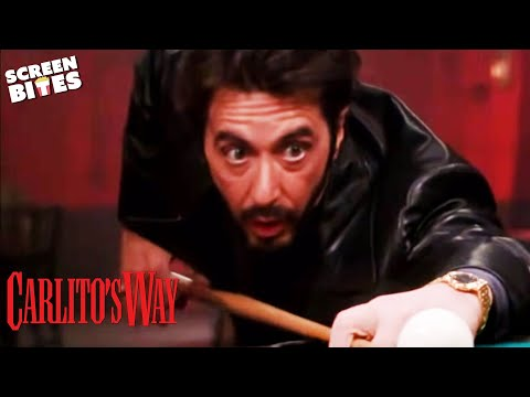 Carlito's Way - Snooker Scene OFFICIAL HD VIDEO Al Pacino, Sean Penn, Penelope Ann Miller