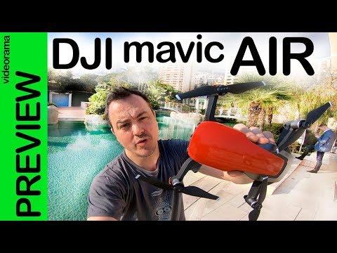 DJI Mavic AIR preview -el MEJOR DRONE que hemos probado-