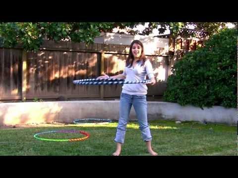 Learn to Hoop Dance - Waist Hooping Tutorial